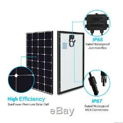 Open Box Renogy Eclipse 100W 100 Watts Mono Solar Panel 12V Volt Final Sale