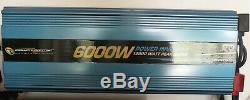 POWERBRIGHT PW6000-12 12-Volt Modified Sine Wave Inverter (6,000 Watts) Includes
