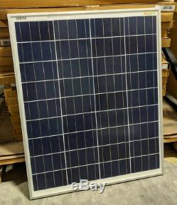 (Pack of 5) Sonali Solar 80 Watt Solar Panels 12 Volt with MC4