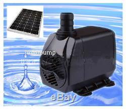 Pond Pump 2500L/h +12 volt Solar panel
