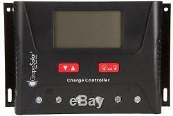 Portable Solar Panel Kit Electric Power Off-Grid RV Boat Cabin 540-Watt 20-Volt