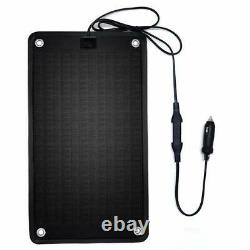 PowerEZ 24Volt 10 Watts Solar Battery Charger for Trolling MotorBoat RV & Mar
