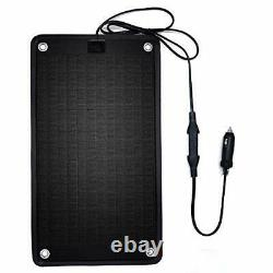 PowerEZ 24Volt 10 Watts Solar Battery Charger for Trolling Motor, Boat, RV &