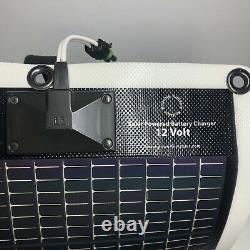 PowerFilm Solar Rollable Panel Battery Charger 12 Volt TESTED