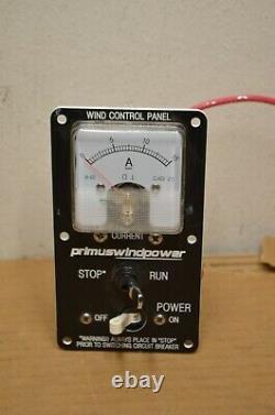 Primus Windpower, Wind Control Panel, 12 Volt