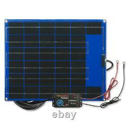 Pulsetech SP-25 12-Volt Solar Charger Maintainer 25-Watt