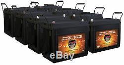 QTY8 VMAX SLR155 12V 155Ah AGM SLA Battery Bank for Solar Power 12 Volt 155Ah ea