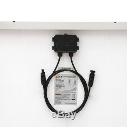 RICH SOLAR 100W Polycrystalline Solar Panel 12 Volt Battery Charging for RV Boat