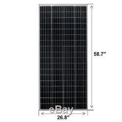 RICH SOLAR 200 Watt 24 Volt Moncrystalline Solar Panel
