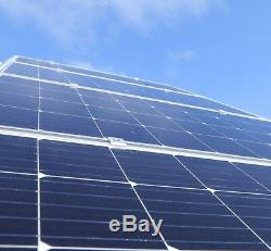 RPS 100 Watt Monocrystalline Solar Panel 12 Volt Battery Charging, RV, Boat, Off