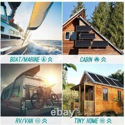 Renogy100 Watt12 Volt Monocrystalline Solar Panel, Compact Design42.2X19.6X1.38in