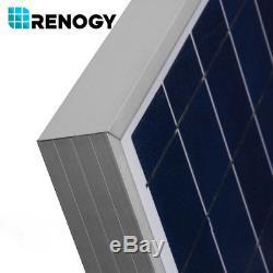 Renogy 100W 12V Solar Panel 100 Watt 12 Volt Off Grid Battery Charger Marine RV