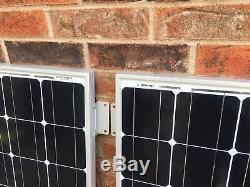 Renogy 100W 12 Volt Monocrystalline Solar Panels (4)