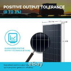 Renogy 100W Watt 12V Volt Monocrystalline Solar Panel (New Edition) Off Grid PV