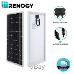 Renogy 100W Watts 12V Volt Monocrystalline Solar Panel High Efficiency Module