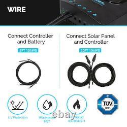Renogy 100Watt 12Volt Solar Premium Kit With 20A MPPT Charge Controller Off-Grid