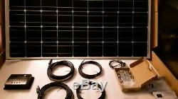 Renogy 100-Watt 12-Volt Eclipse Solar Premium Kit for Off-Grid Solar