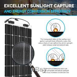 Renogy 100 Watt 12 Volt Extremely Flexible Monocrystalline Solar Panel ETFE La