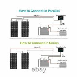 Renogy 100 Watt 12 Volt Extremely Flexible Monocrystalline Solar Panel New