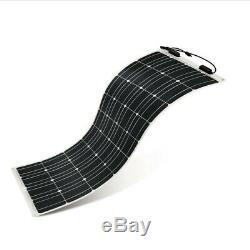 Renogy 100 Watt 12 Volt Extremely Flexible Monocrystalline Solar Panel Thin