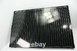 Renogy 100 Watt 12 Volt Monocrystalline Portable Solar Panel w Charge Controller