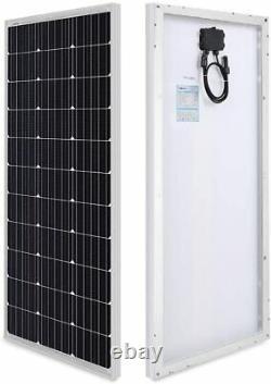 Renogy 100 Watt 12 Volt Monocrystalline Solar Panel Compact Design 42.2 X 19