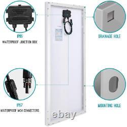 Renogy 100 Watt 12 Volt Monocrystalline Solar Panel, Compact Design 42.2 X 19.6