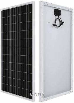 Renogy 100 Watt 12 Volt Monocrystalline Solar Panel, Compact Design 42.4 X 20.0
