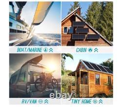 Renogy 100 Watt 12 Volt Monocrystalline Solar Panel Compact Design Caravan New