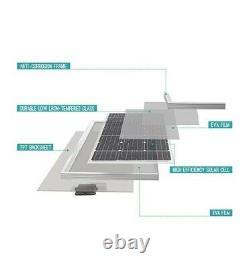 Renogy 100 Watt 12 Volt Monocrystalline Solar Panel Ideal for Off Grid PV System
