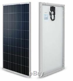 Renogy 100 Watt 12 Volt Monocrystalline Solar Panel Marine, Cabin, RV, Tiny Home
