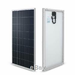 Renogy 100 Watt 12 Volt Monocrystalline Solar Panel (New Edition), Design NEW