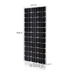 Renogy 100 Watt 12 Volt Monocrystalline Solar Panel (Slim Design)