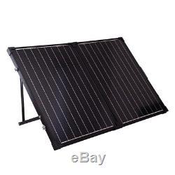 Renogy 100 Watt 12 Volt Monocrystalline Solar Suitcase (with Charge Controller)