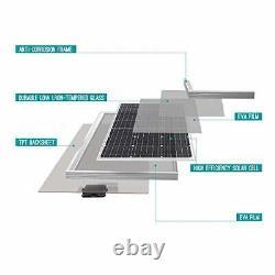 Renogy 100 Watt 12 Volt (Single Panel Compact DesignSolar Panel)