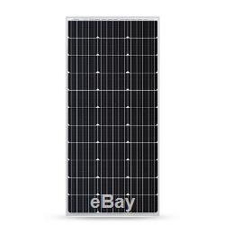 Renogy 100 Watt 12 Volt Solar Panel 100W 12V Off Grid Power RV Boat Outdoor