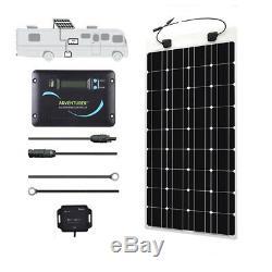 Renogy 100 Watt 12 Volt Solar RV Kit with Flexible Solar Panel, Advanturer Contr