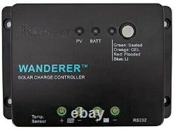 Renogy 100 Watts 12 Volts Monocrystalline Solar Panel Bundle Kit with 30A Negat