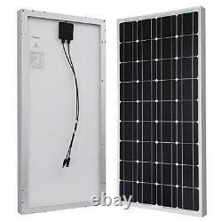 Renogy 100 Watts 12 Volts Monocrystalline Solar Panel Single