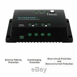Renogy 100 Watts 12 Volts Monocrystalline Solar Starter Kit With 100W Solar Panel