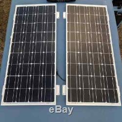 Renogy 10W 20W 50W 100W Watt Monocrystalline Solar Panel 12V Volt PV Power Mono