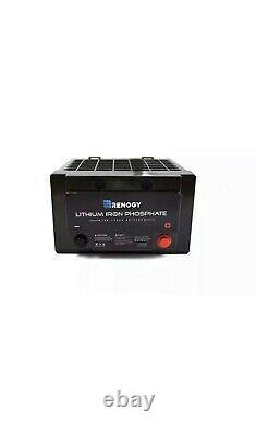 Renogy 12-Volt 100 Ah Lithium-Iron Phosphate Battery for Solar Panels Solar