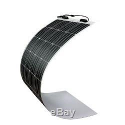 Renogy 160W Watt 12V Volt Solar Panel Marine Kit + 20A LCD Waterproof Controller