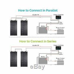 Renogy 160 Watt 12 Volt Extremely Flexible Monocrystalline Solar Panel New