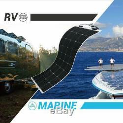 Renogy 160 Watt 12 Volt Extremely Flexible Monocrystalline Solar Panel Ultra L