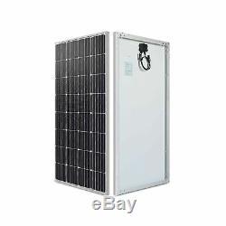 Renogy 160 Watt 12 Volt Monocrystalline Solar Panel, 160W Mono