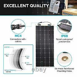 Renogy 175 Watt 12 Volt Flexible Monocrystalline Solar Panel, 175W
