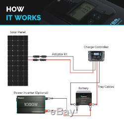 Renogy 200W Watt 12V Volt Monocrystalline Solar Panel PV Power High efficiency