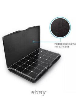 Renogy 200 Watt 12 Volt Eclipse Monocrystalline Off Grid Portable Foldable Solar