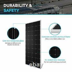 Renogy 200 Watt 12 Volt Monocrystalline Solar Panel, Compact Design